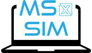 MechaSpin MSx Sim Logo