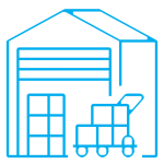 MechaSpin Material Handling Icon Image