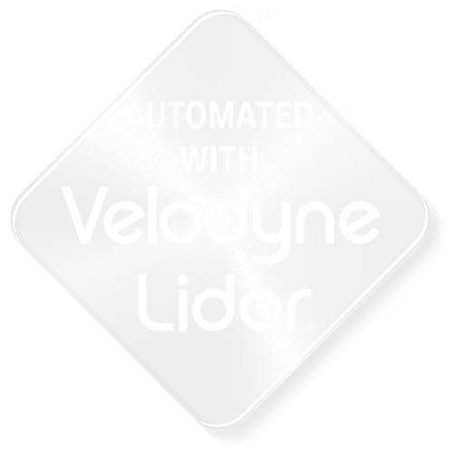 Automated With Velodyn Badge Image